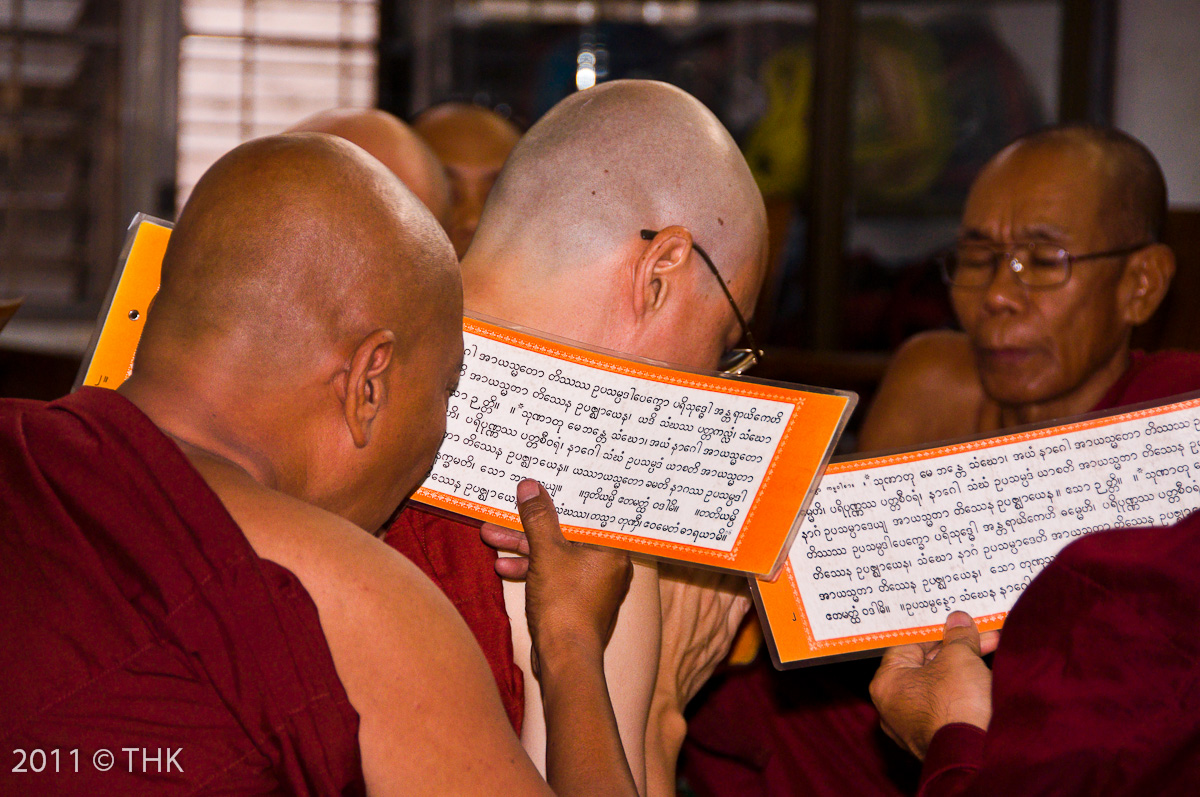 The defining moment (to become a monk)